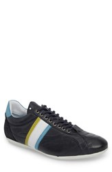 Cycleur De Luxe Crush City Low Top Sneaker Navy Leather