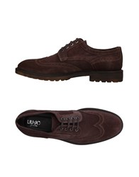 Liu Jo Jeans Lace Up Shoes Brown