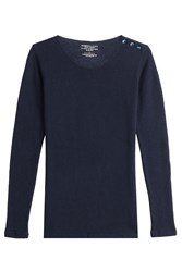 Majestic Cashmere Pullover With Merino Wool Gr. 2