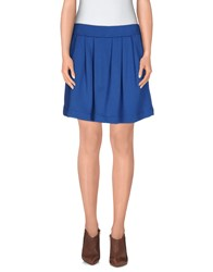 Mariuccia Skirts Mini Skirts Women Azure