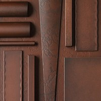 Hubbardton Forge Base Cover Cap Large Outdoor Mahogany Brown