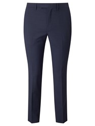 John Lewis Kin By Miller Pindot Tailored Suit Trousers Navy