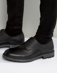 Religion Scotchgrain Leather Derby Shoes Black