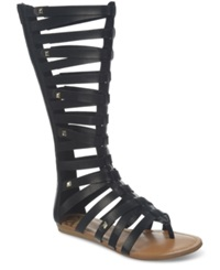 Fergalicious Supreme Tall Shaft Gladiator Sandals Women's Shoes Black