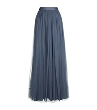 Needle And Thread Tulle Maxi Skirt Female Blue