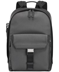 Tumi Men's Morrison Coated Canvas Backpack Grey