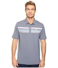Travis Mathew Cline Polo Dark Blue Men's Clothing