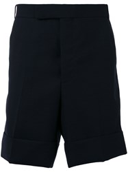 Thom Browne Tailored Shorts Blue