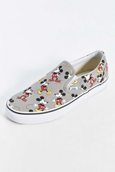 Vans Classic Mickey Mouse Slip On Sneaker Grey
