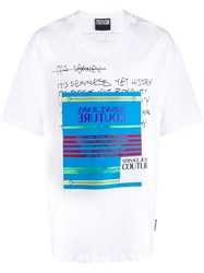 Versace Jeans Couture Statement Print T Shirt 60