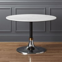 Cb2 Hackney Marble Dining Table