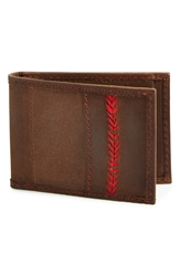 Rawlings Sports Accessories 'The Arch' Front Pocket Wallet Brown