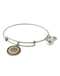 Alex And Ani Sunflower Charm Bangle Silver