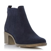 Episode Prichard Ankle Boots Navy