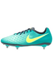 Nike Performance Magista Onda Ii Sg Football Boots Rio Teal Volt Obsidian Clear Jade Mint