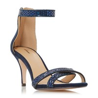 Linea Masey Heatseal Sandals Navy