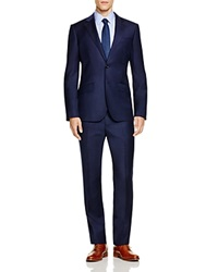 Hardy Amies Basic Regular Fit Suit Navy