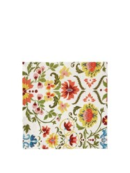 Cabana Magazine Rinascimento Set Of Four Linen Napkins Multi