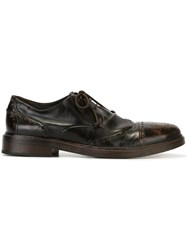 Marsell Distressed Brogues Brown