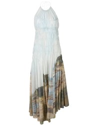 Pringle Of Scotland Gathered Landscape Dress Unavailable