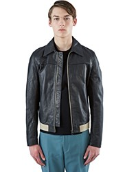 Acne Studios Alisdair Hip Leather Jacket Black