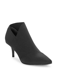 Adrianna Papell Heather Asymmetrical Booties Black