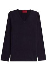 Hugo Pullover With Cotton Silk And Cashmere Gr. M