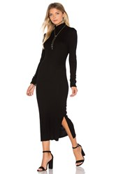 Cotton Citizen Melbourne Midi Dress Black