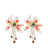 Shourouk Amelia Flower Beads Earrings