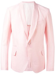 Haider Ackermann Shawl Lapel Blazer Pink Purple