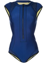 Duskii Maui Surf Swimsuit Women Neoprene 12 Blue
