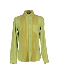 Dandg Shirts Shirts Men Acid Green