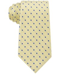Club Room Men's Polka Dot Tie Only At Macy's Yellow