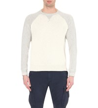 Ralph Lauren Crewneck Cotton Sweatshirt Grey