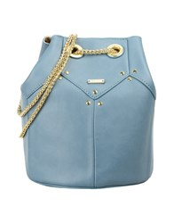 Nali Handbags Slate Blue
