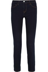 L'agence Coco Mid Rise Slim Leg Jeans Midnight Blue