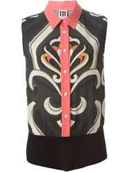 I'm Isola Marras Sleeveless Shirt Body Black