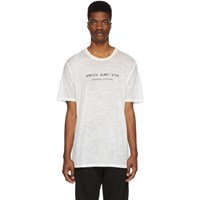 Baja East White Special Guest Star T Shirt