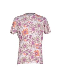 Daniele Alessandrini Topwear T Shirts Men Light Pink