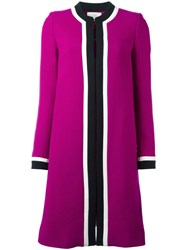 Goat 'Danube' Coat Pink Purple