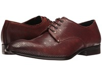Messico Omar Burnished Cognac Leather Shoes Brown