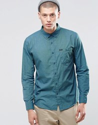 Brixton Shirt With Front Pocket In Regular Fit Blue