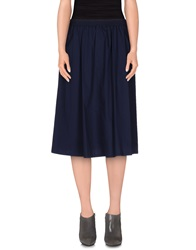 Pianurastudio 3 4 Length Skirts Dark Blue