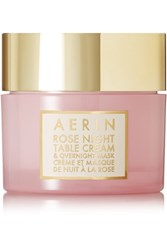Aerin Beauty Rose Night Table Cream And Overnight Mask Colorless