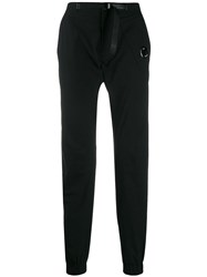 C.P. Company Cp Buckled Belt Trousers Black