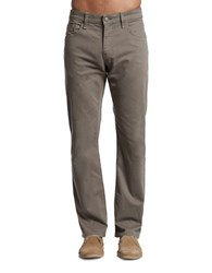 Mavi Jeans Twill Straight Fit Solid Pants Dusty Olive