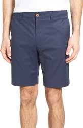 Tailor Vintage Men's Performance Chino Shorts Navy