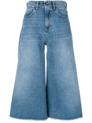 Pinko Sailor Cropped Jeans Blue