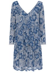 French Connection Antonia Lace Dress Meru Blue