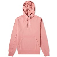 Calvin Klein Embroidered Logo Popover Hoody Pink